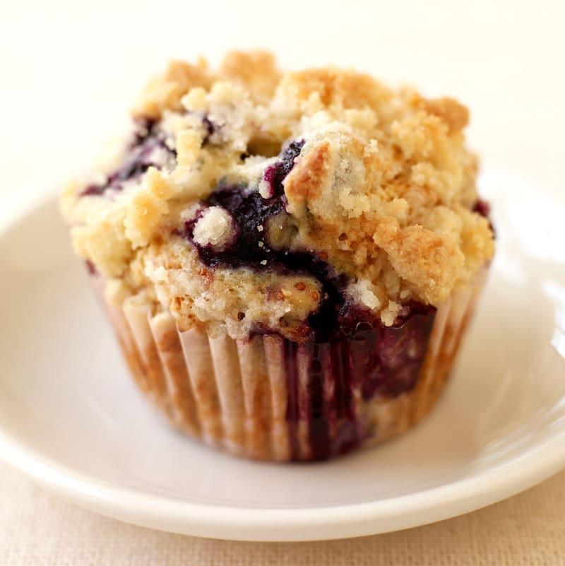 Foto Blaubeer-Streusel-Muffins von WW