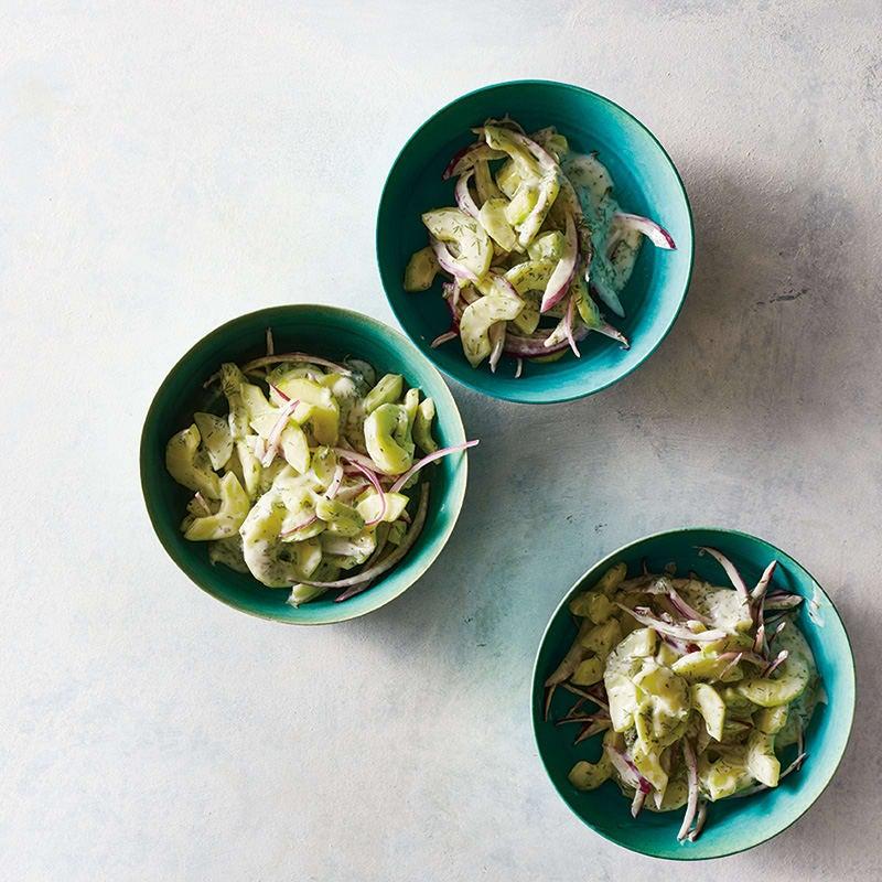 Foto Gurken-Joghurt-Salat von WW