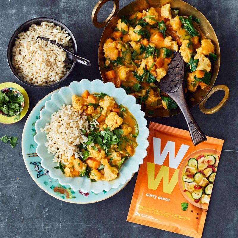 Foto Blumenkohl-Spinat-Curry von WW