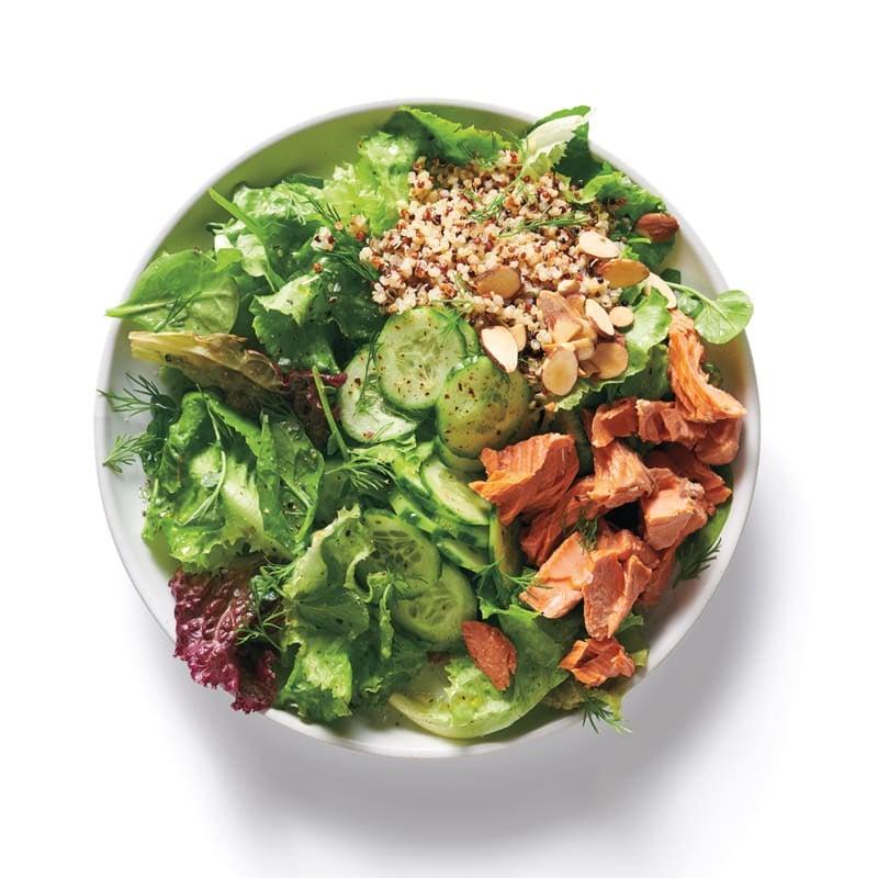 Foto Baukasten Salat Asia-Hähnchen und Sobanudeln von WW