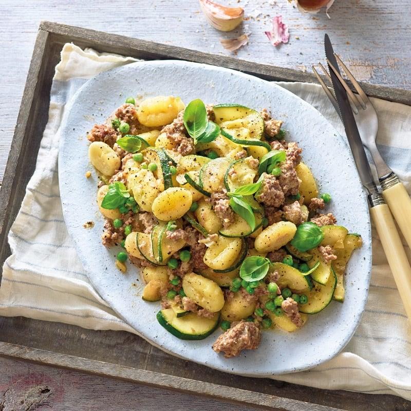 Foto Gnocchi mit cremiger Gemüse-Tatar-Sauce von WW