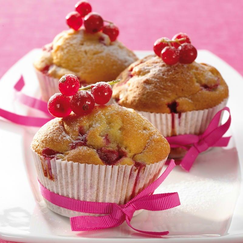 Foto Johannisbeer-Joghurt-Muffins von WW