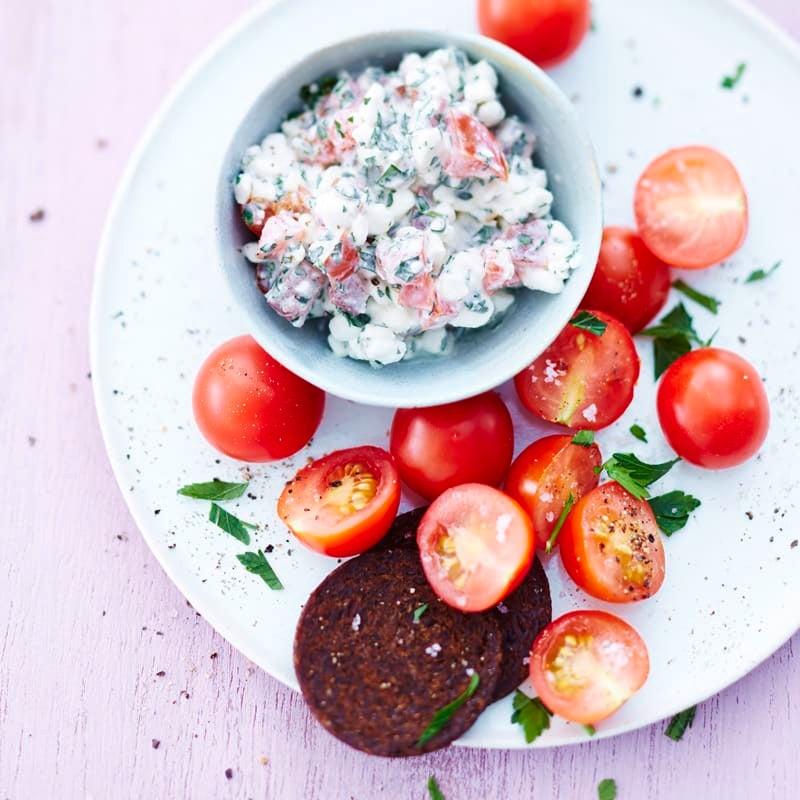 Foto Hüttenkäse-Tomaten-Taler von WW