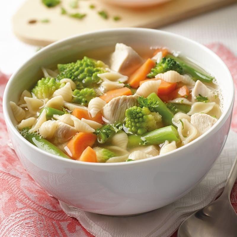 Foto Hühner-Nudel-Suppe von WW