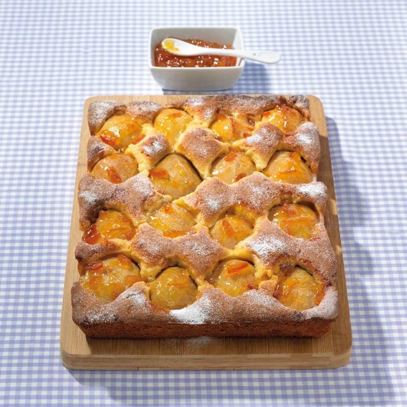 Foto Birnen-Marzipan-Kuchen von WW