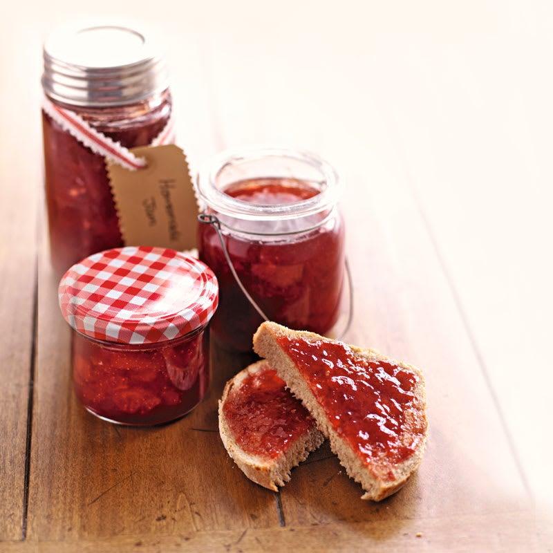 Foto Erdbeer-Holunder-Marmelade von WW