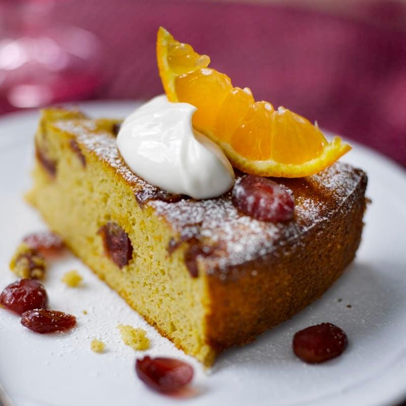 Foto Cranberry-Mandarinen-Kuchen von WW