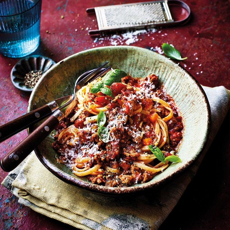 Foto Klassische Spaghetti Bolognese von WW