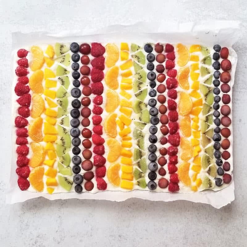 Foto Regenbogen Frozen Yoghurt Bites von WW