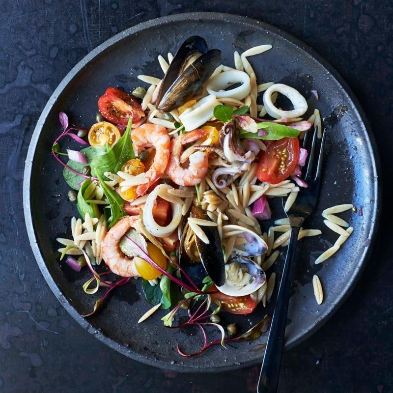 Foto Meeresfrüchtesalat mit Zitrusdressing von WW