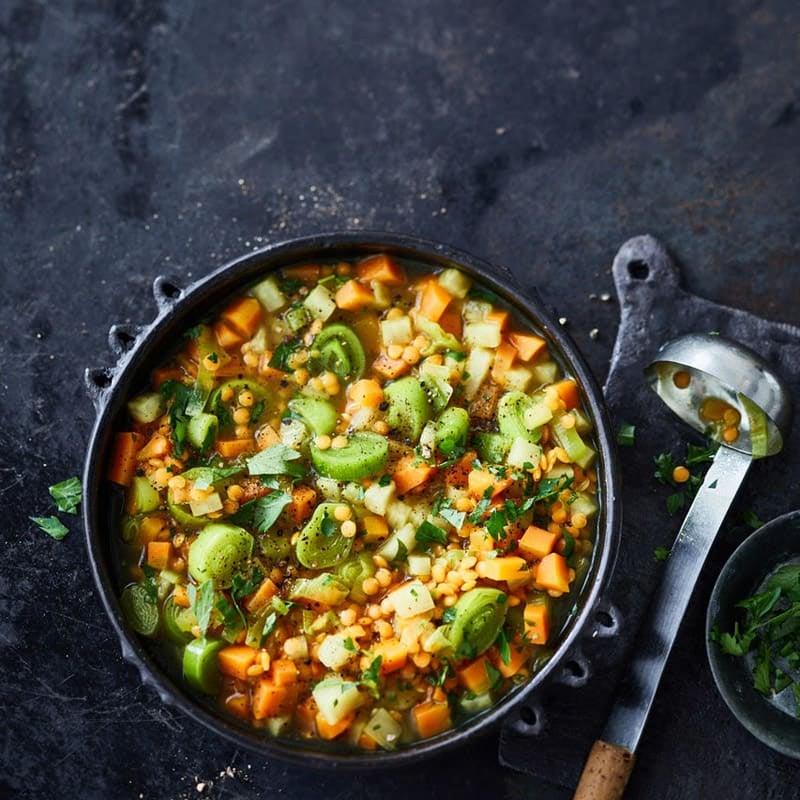 Foto Karotten-Linsen-Suppe von WW