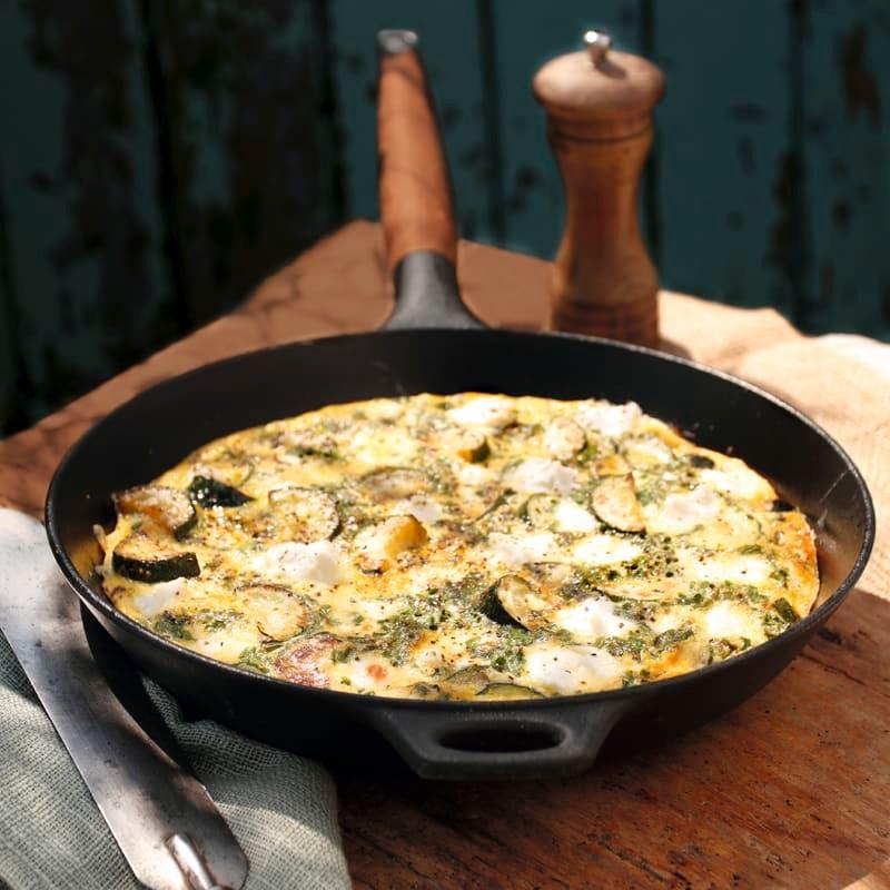 Foto Zucchini-Mozzarella-Pfanne von WW