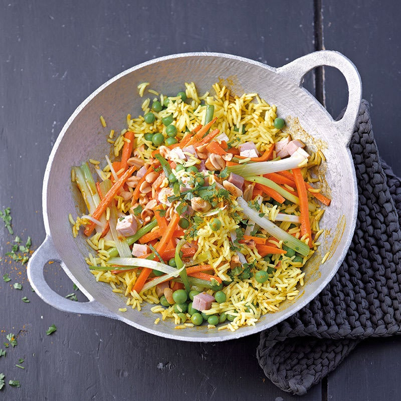 Foto Gebratener Reis mit Gemüse von WW