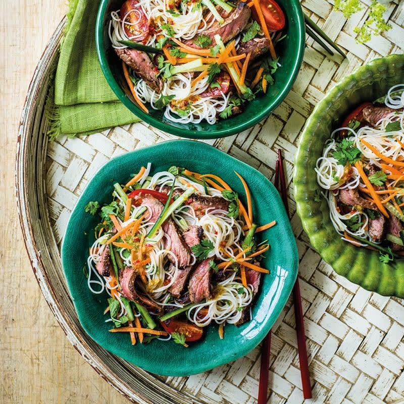 Foto Vietnamesischer Nudelsalat mit Roastbeef von WW