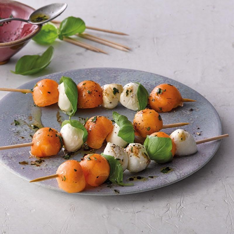 Foto Melonen-Mozzarella-Spieße von WW