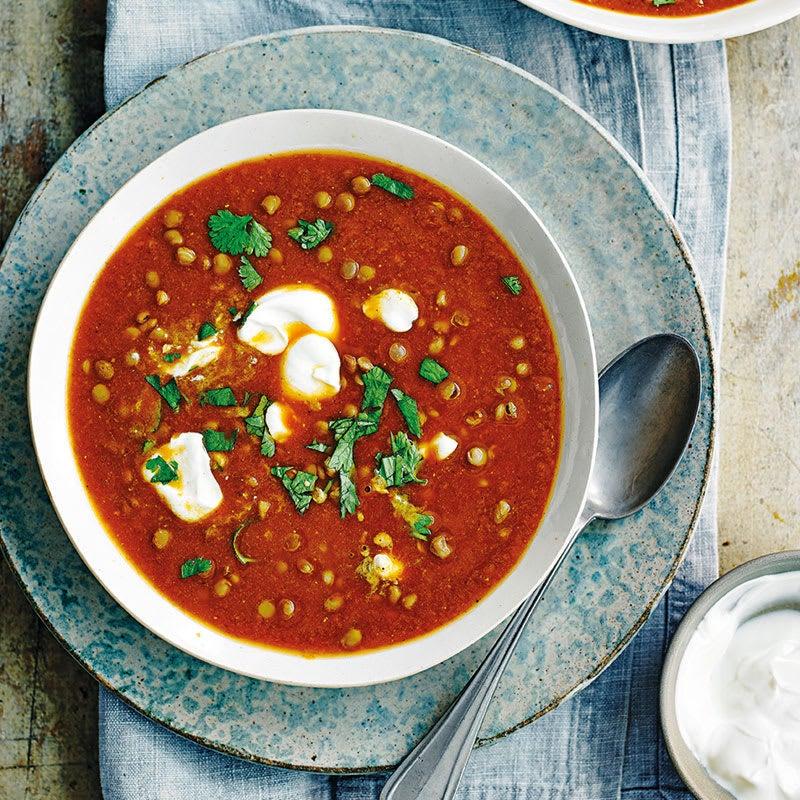Foto Scharfe Karotten-Linsen-Suppe von WW