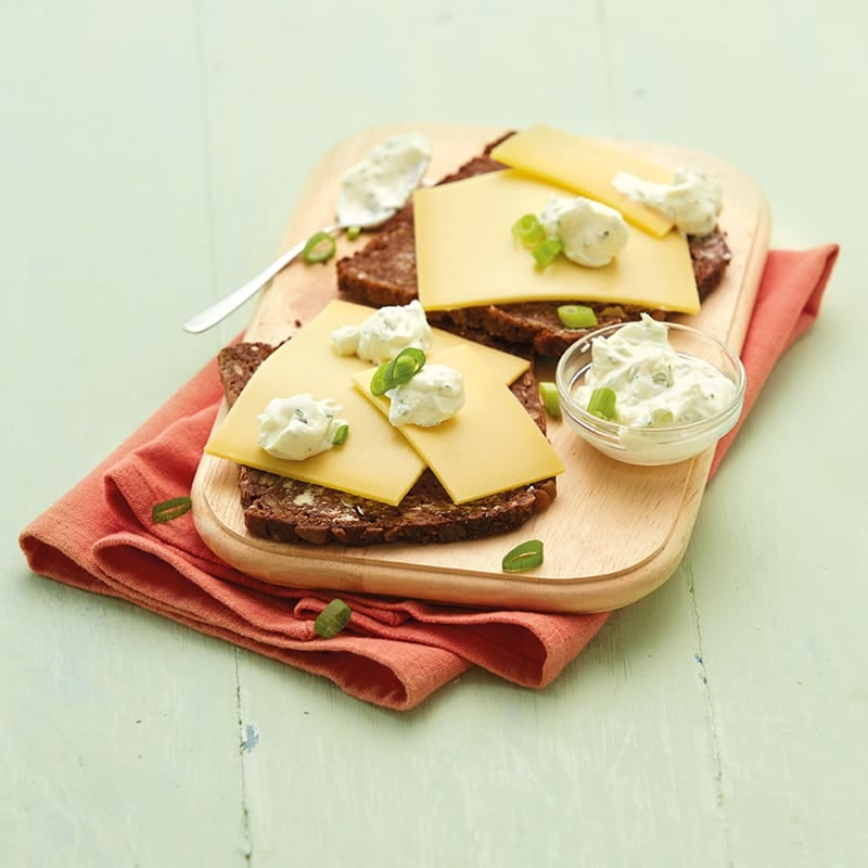 Foto Käse-Quark-Brot von WW