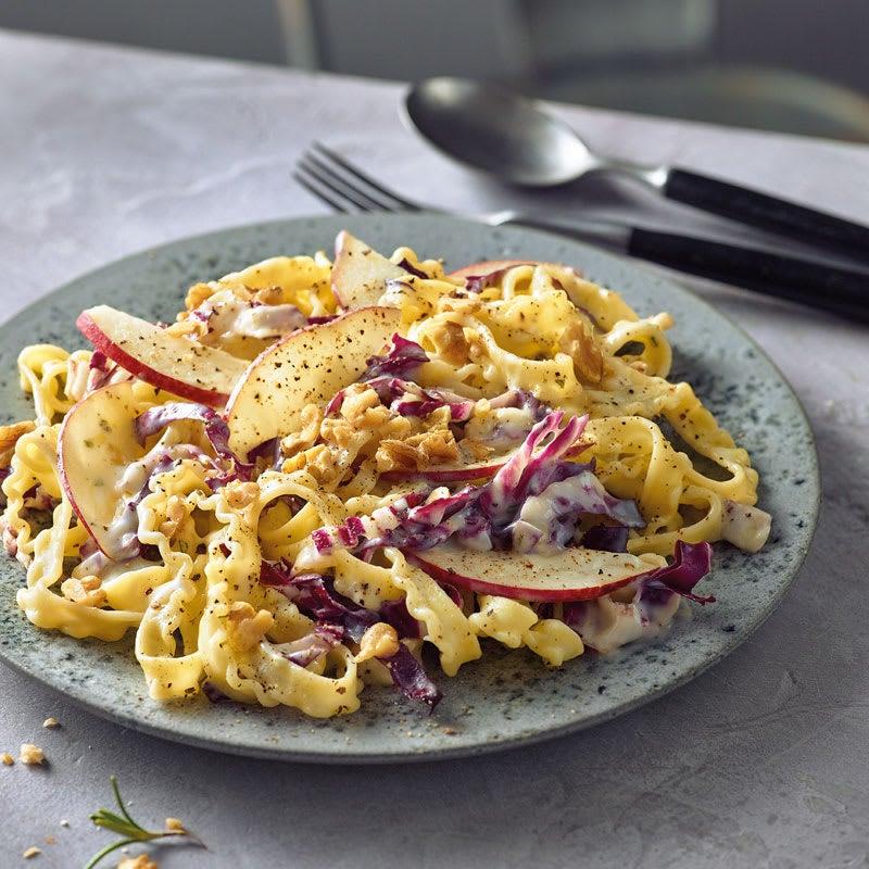 Foto Gorgonzola-Pasta mit Birnen und Walnüssen von WW
