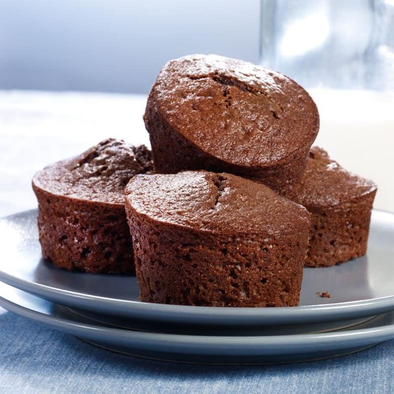 Foto Gefüllte Schokoladenmuffins von WW