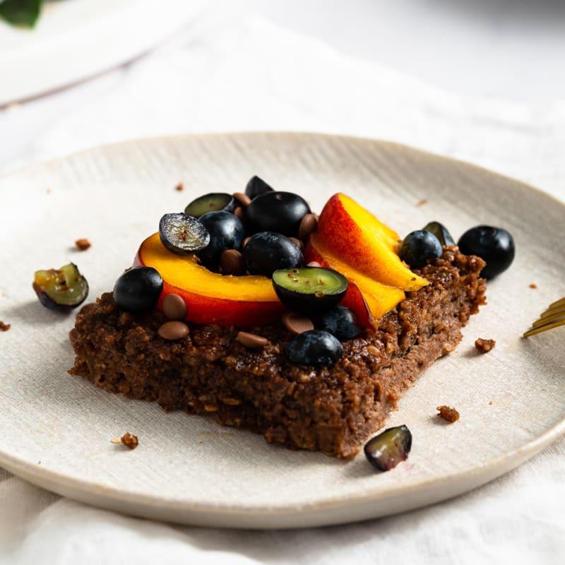 Foto Baked Oatmeal mit Schokolade von WW