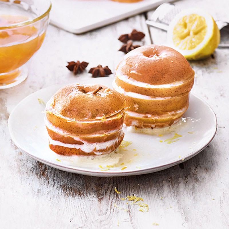 """Foto Apfelschnitten """"Pommes Tartines"""" von WW"""