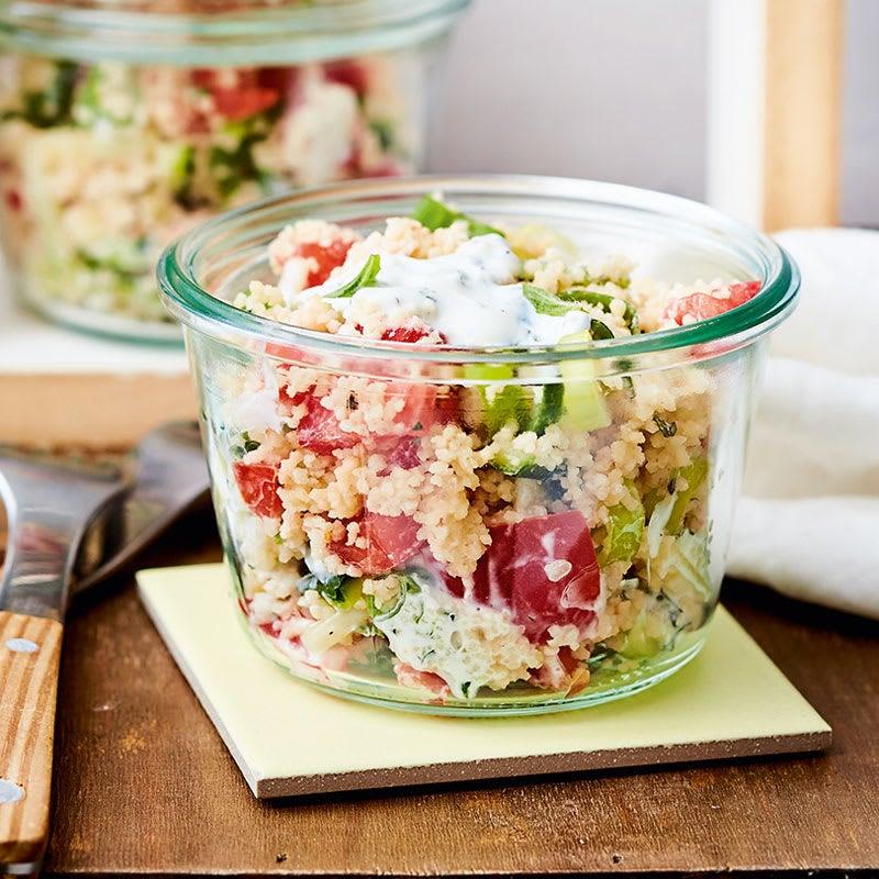 Foto Tomaten-Couscous-Salat mit Minze von WW