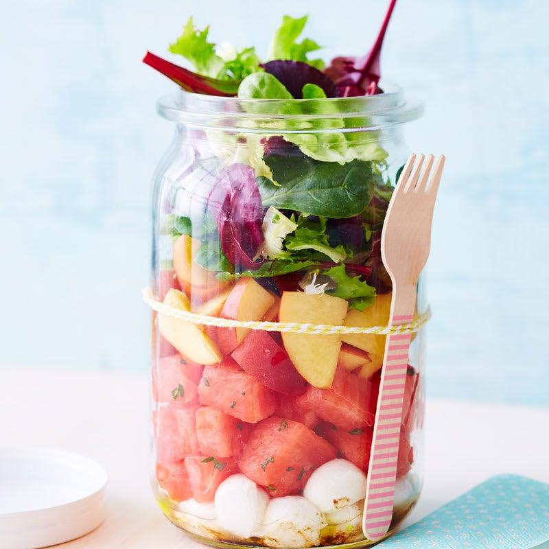 Foto Melonen-Mozzarella-Salat von WW