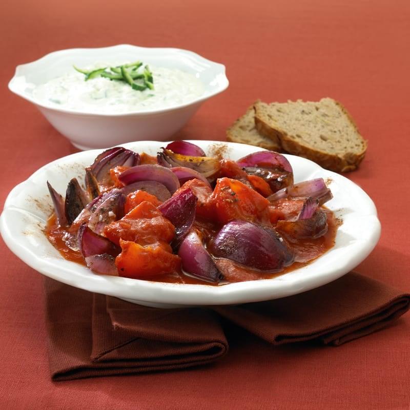 Foto Zwiebel-Tomaten-Topf von WW