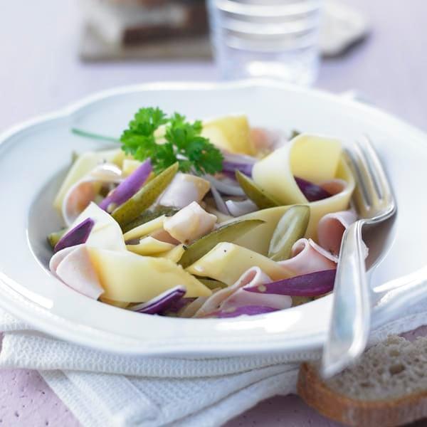 Foto Wurst-Käse-Salat von WW