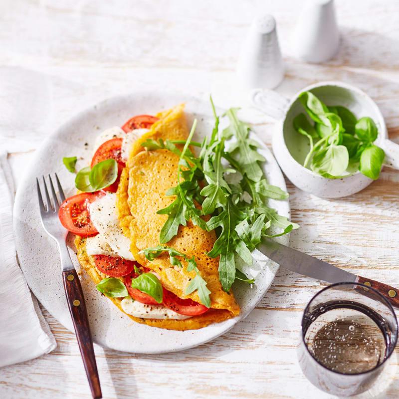 Foto Tomaten-Mozzarella-Omelette von WW