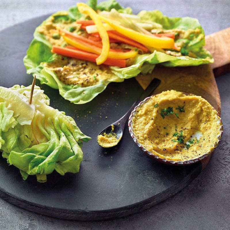 Foto Salatwraps mit Gemüse von WW