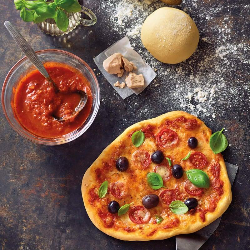 Foto Selbstgemachter Pizzateig von WW