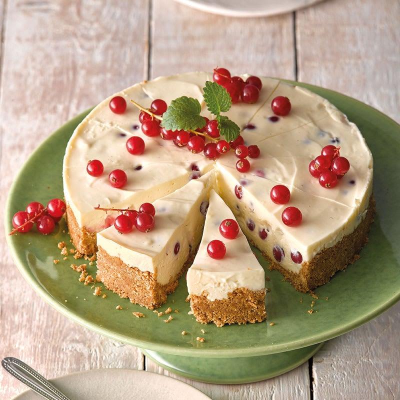 Foto White Choc Johannisbeer-Cheesecake von WW
