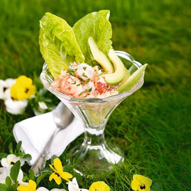 Foto Krebsfleisch-Avocado-Cocktail von WW