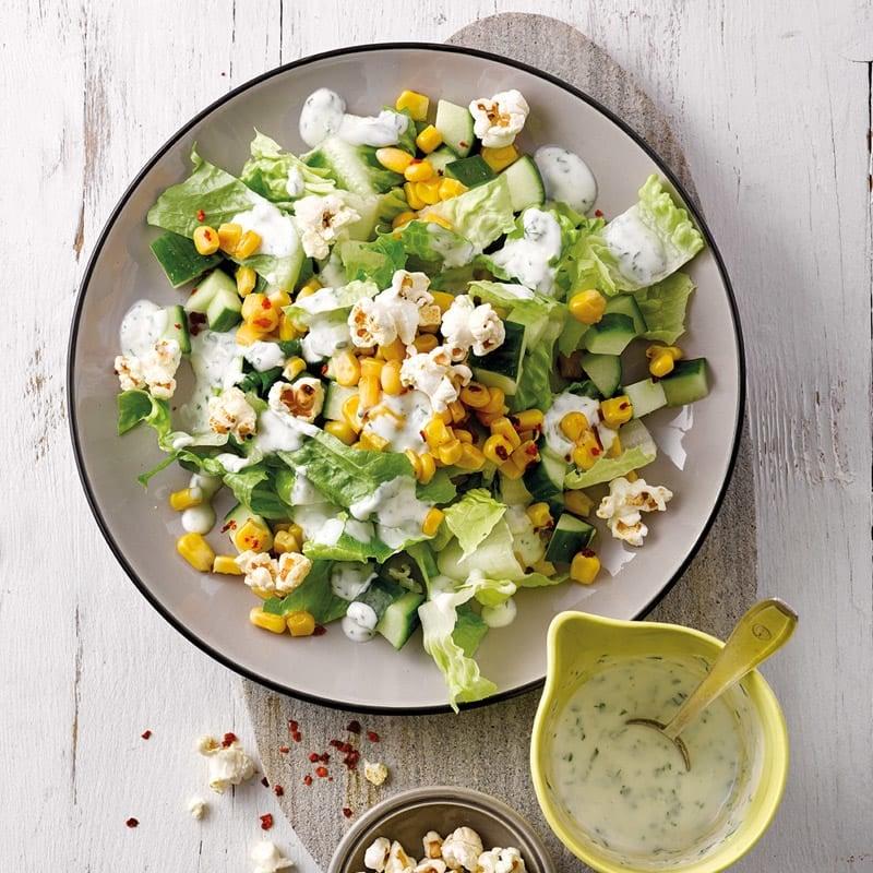 Foto Grüner Salat mit Popcorn von WW