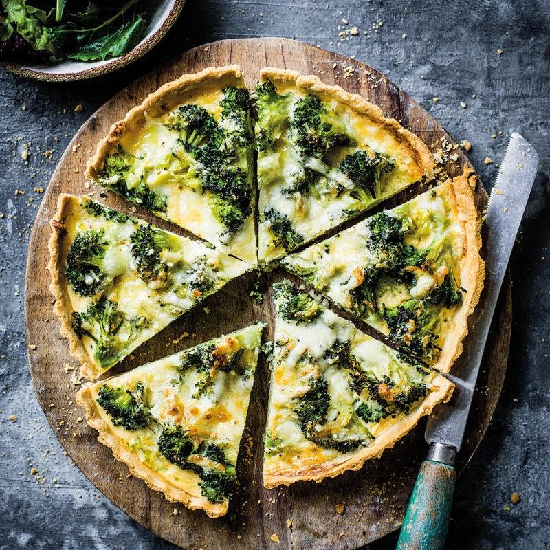Foto Broccoliquiche mit Käseguss von WW