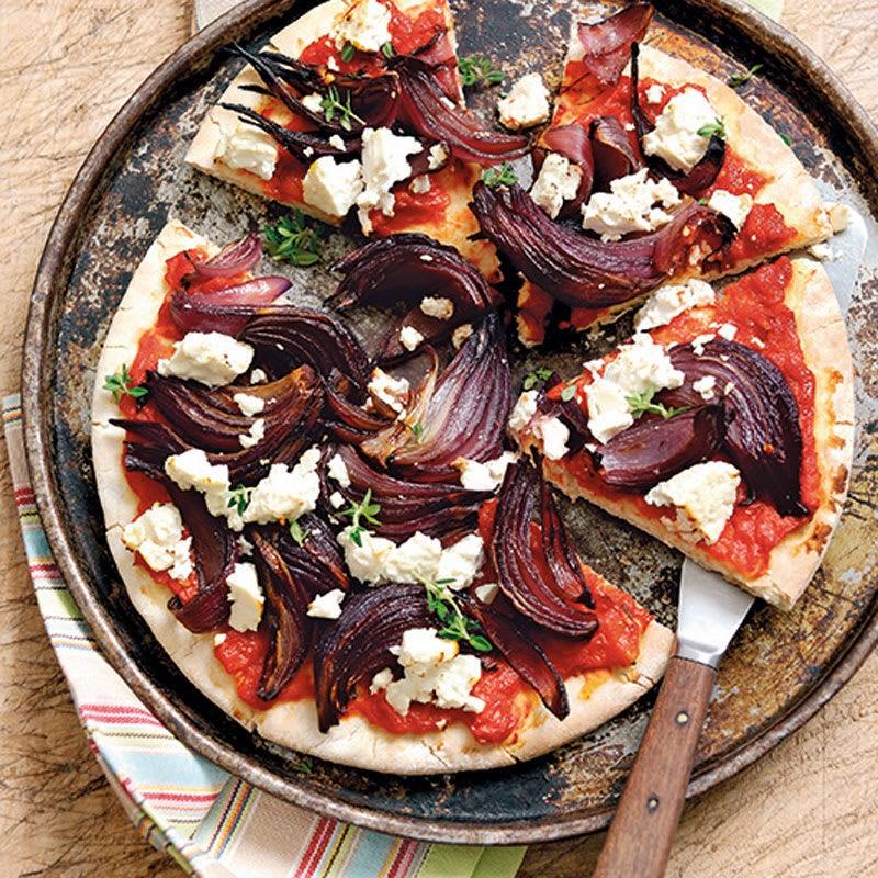 Foto Balsamico-Zwiebel-Pizza von WW