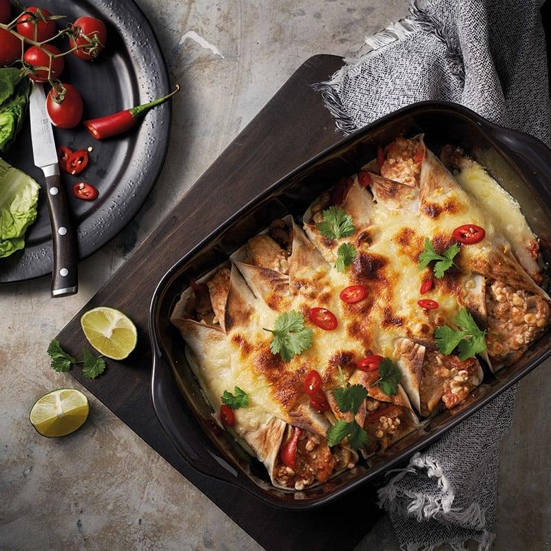 Foto Enchiladas mit Hähnchen von WW
