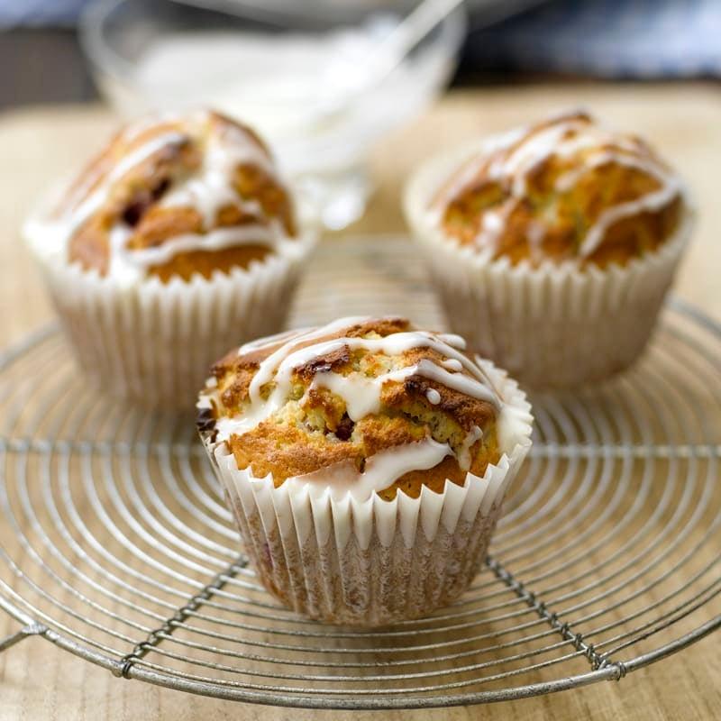 Foto Himbeer-Muffins mit einem Hauch Orange von WW