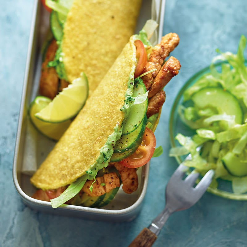 Foto Tacos mit Schweinefleisch und Avocadocreme von WW
