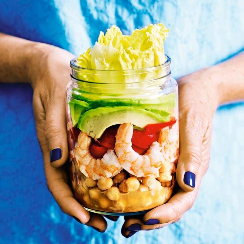 Foto Garnelen-Avocado-Salat von WW