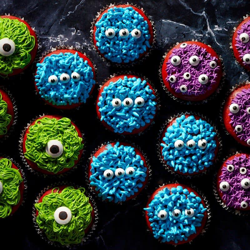 Foto Halloween Monster-Cupcakes von WW