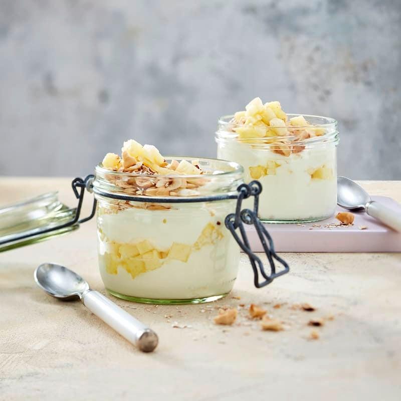 Foto Energie-Joghurt mit Ananas von WW