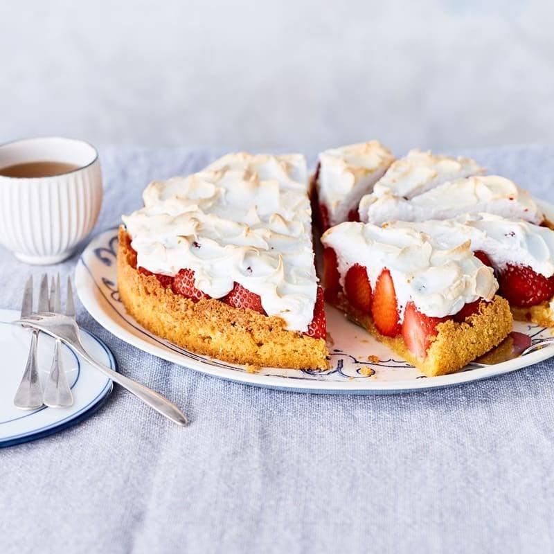 Foto Erdbeer-Baiser-Kuchen von WW