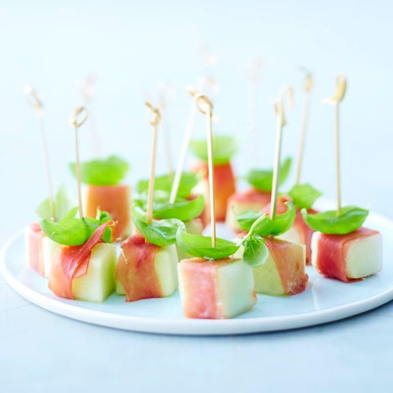 Foto Melonen-Schinken-Spießchen von WW