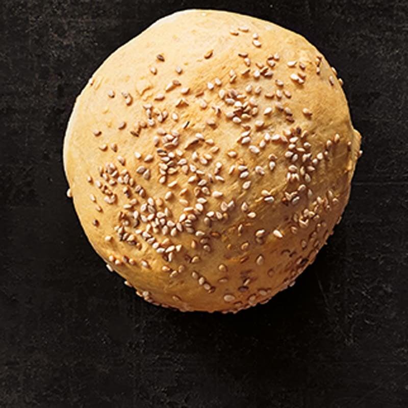 Foto Burgerbrötchen mit Sesam von WW