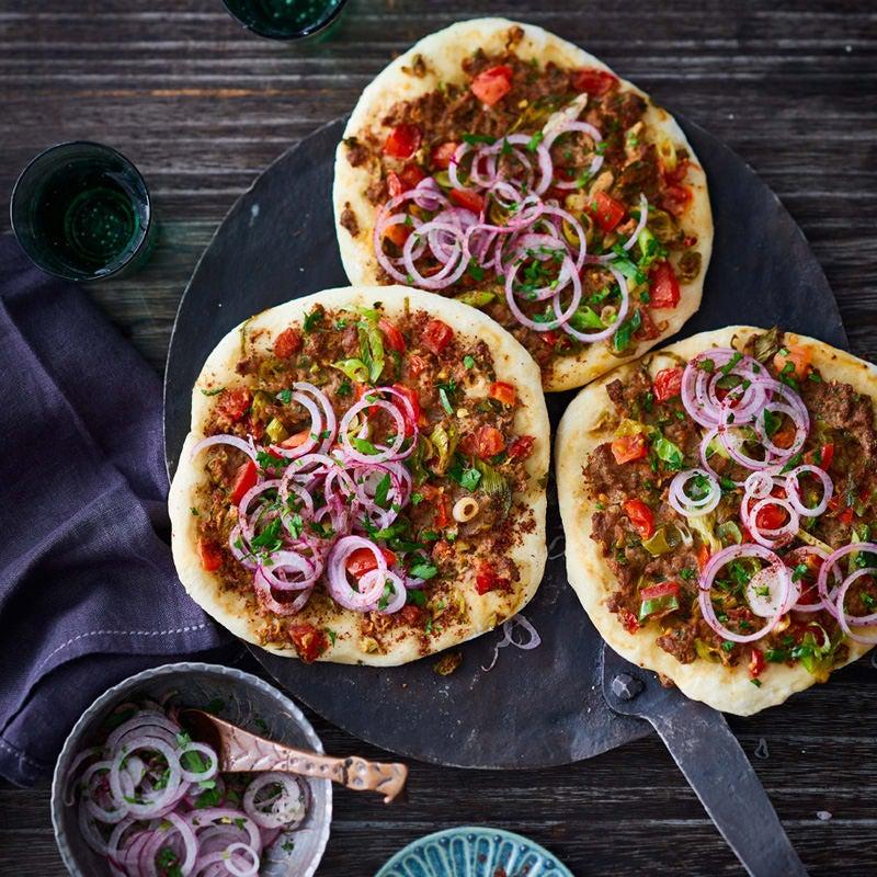 Foto Türkische Pizza (Lahmacun) von WW