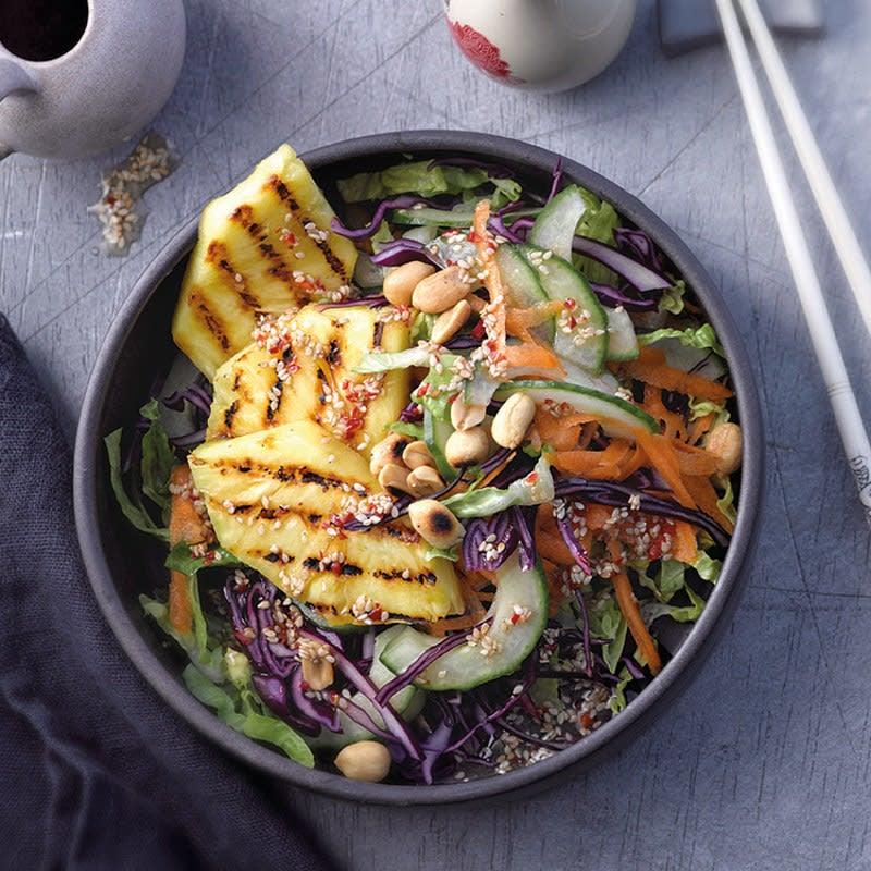 Foto Thai-Salat mit gegrillter Ananas von WW