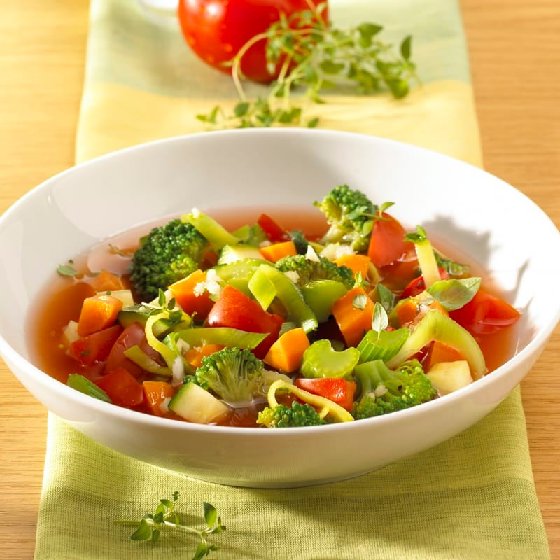 Foto Italienische Gemüsesuppe von WW