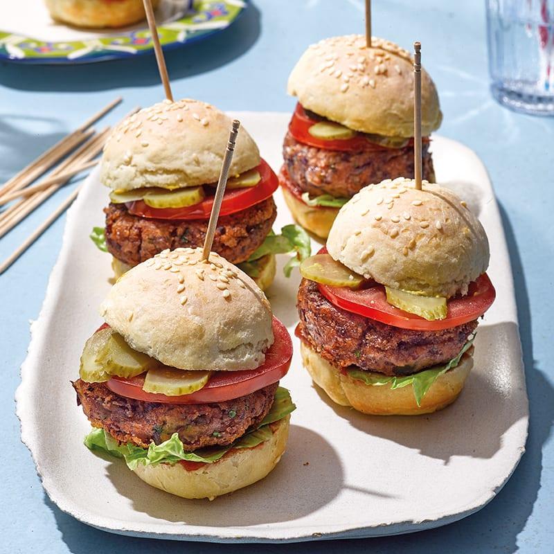 Foto Mini-Bohnen-Burger von WW